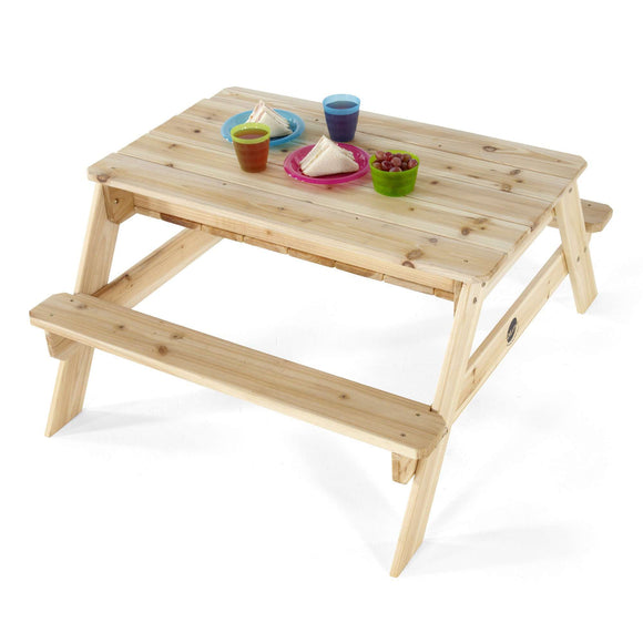 Plum Wooden Sand and Picnic Table:Plum:Swing Happy