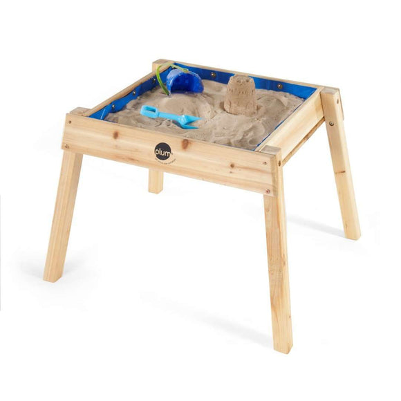 Plum Build and Splash Wooden Sand and Water Table:Plum:Swing Happy