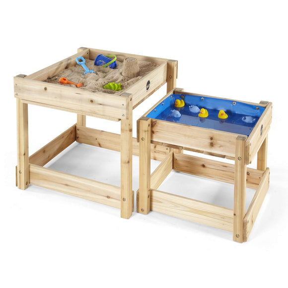 Plum Sand and Water Wooden Tables (Natural):Plum:Swing Happy