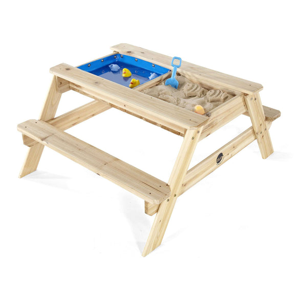 Plum Surfside Sand and Water Table (Natural):Plum:Swing Happy