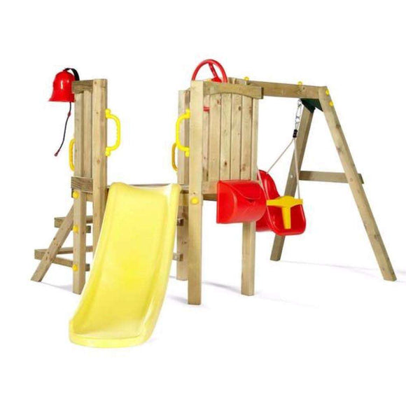 Plum Toddler Tower Wooden Play Centre:Plum:Swing Happy