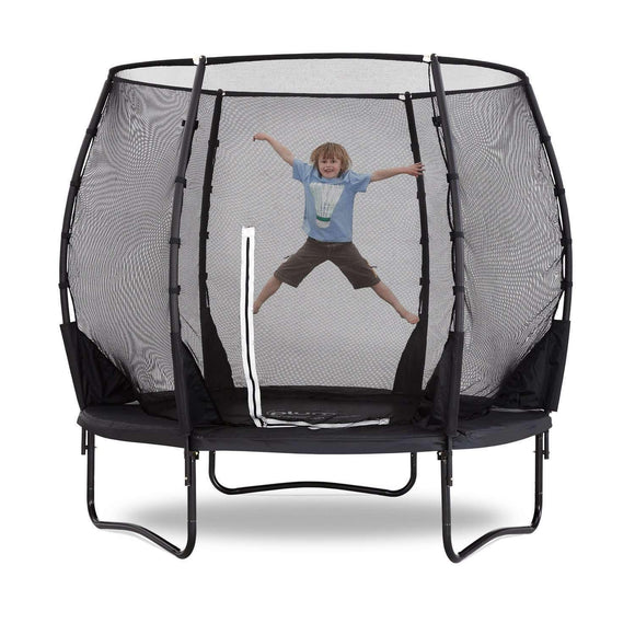 Plum Premium Magnitude Trampoline 8ft:Plum:Swing Happy