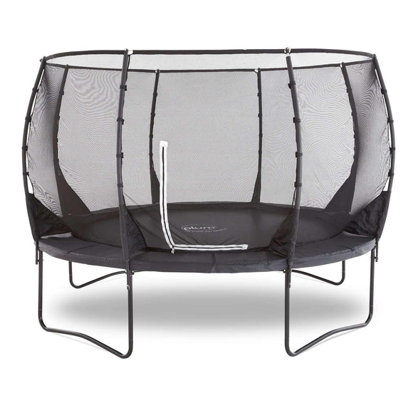 Plum Premium Magnitude Trampoline 12ft:Plum:Swing Happy
