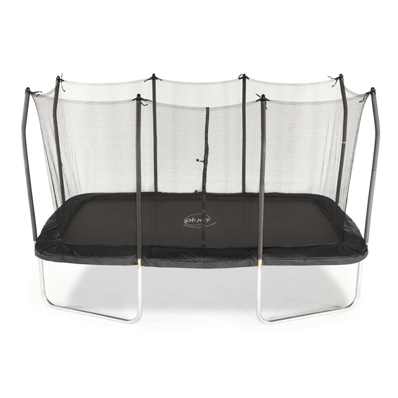 Plum  Rectangular Spring Safe Trampoline 8 x 14ft:Plum:Swing Happy
