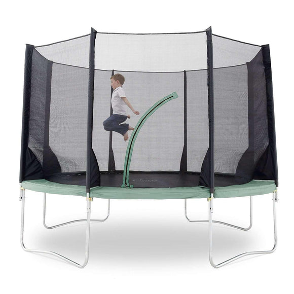 Plum Space Zone V3 Trampoline 14ft:Plum:Swing Happy