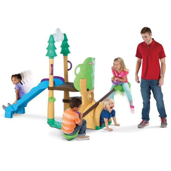Little Tikes 1,2,3 Climber, See Saw & Slide:Little Tikes:Swing Happy