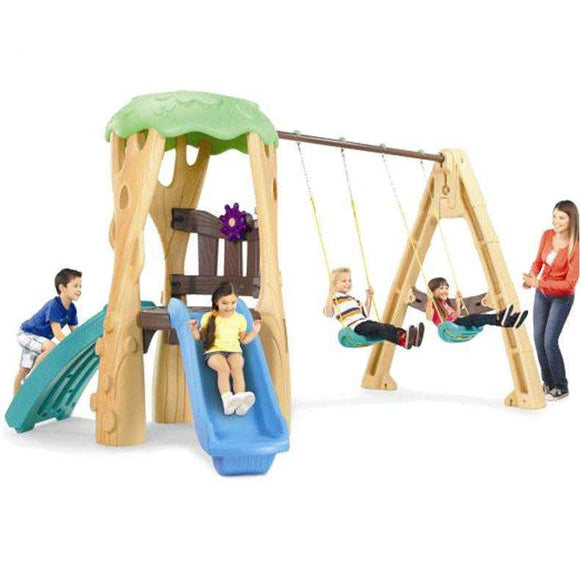 Little Tikes Treehouse Swing Set:Little Tikes:Swing Happy