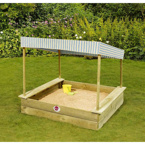 Plum Palm Beach Wooden Sand Pit:Plum:Swing Happy