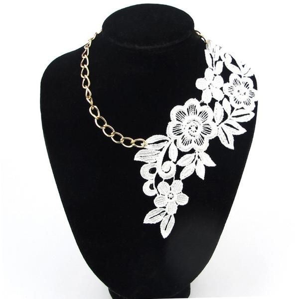 Elegant Handmade Vintage Lace Choker Necklace by Pick a Product