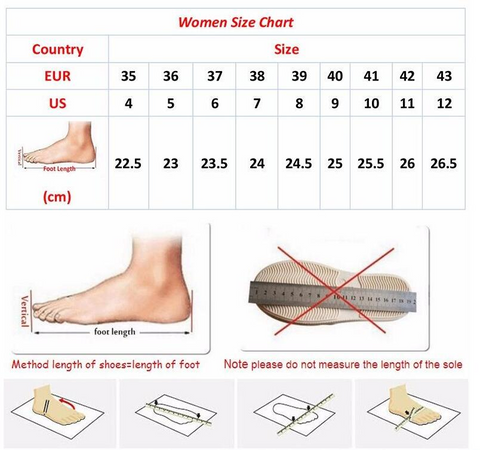 2019 Woman Knee High Motorcycle Boots Size Chart