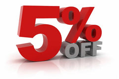 SALE 5% OFF YOUR ENTIRE ORDER - ENDS 27 OCT