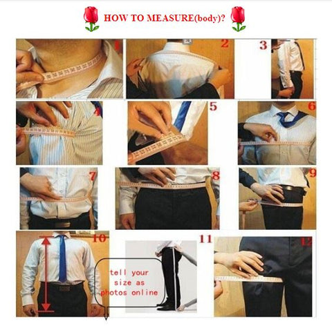 How to Measure Suit by PickAProduct