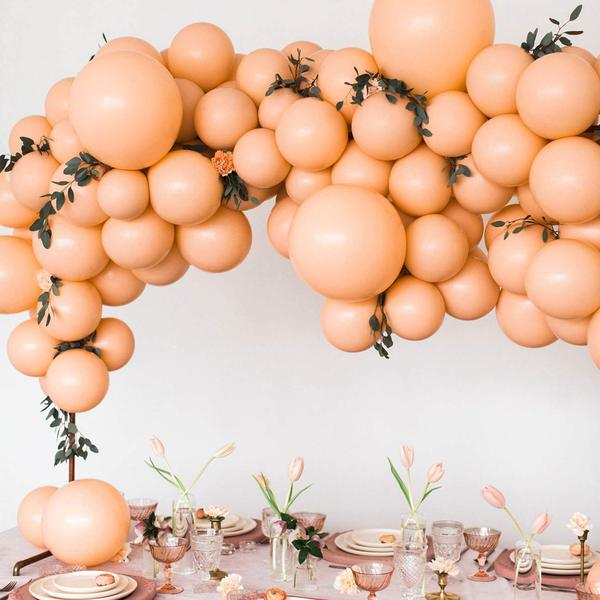 """50 Pcs 10"""" Peach Balloons Party Decorations by Pick a Product"""