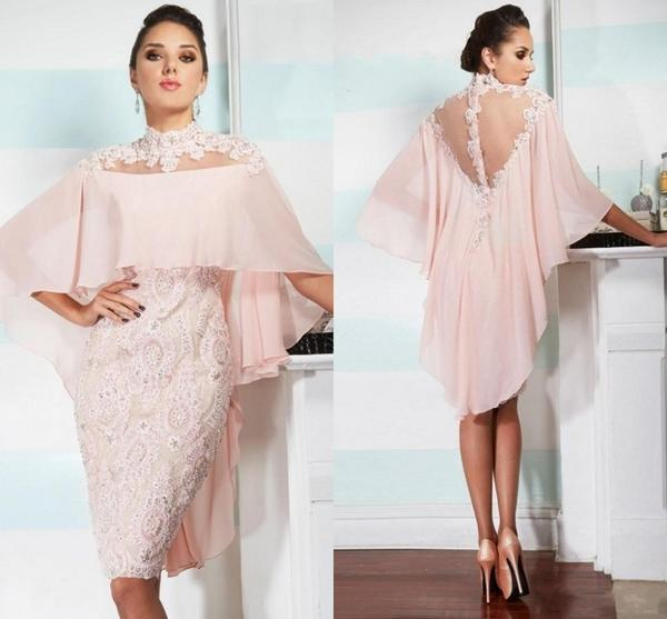 Pink High Neck Mother of the Bride Dresses by Pick a Product
