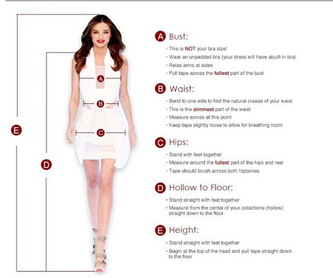 How to Measure Women's Dress