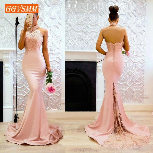 Sexy Pink Mermaid Evening Gowns 2018 Cheap by Pick a Product