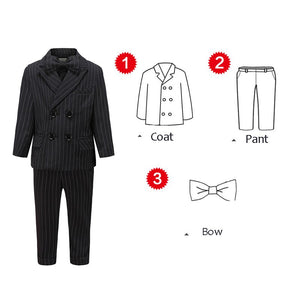England Style Black and Dark Grey Suits for Wedding by PickAProduct