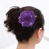 1 Piece Women's Fabric Rose Hair Clip by PickAProduct