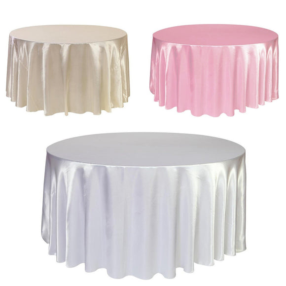 1 Pcs Satin Tablecloth 57''90''120'' - little-darling-fashion-online