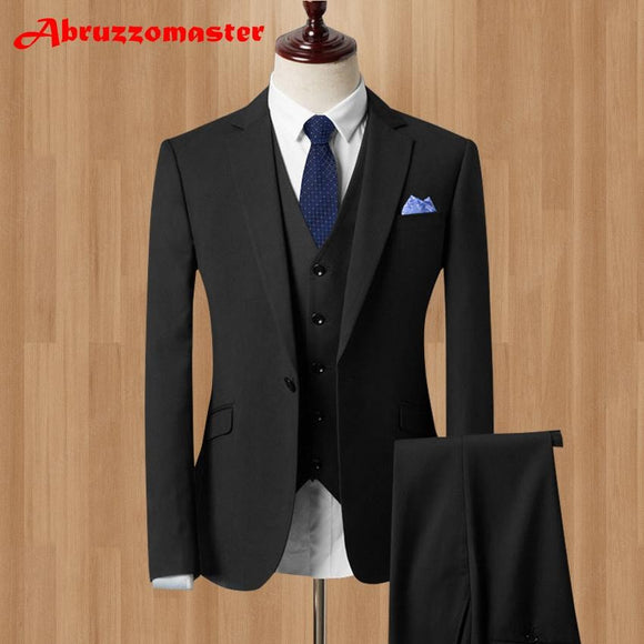 Men's Terno Business Suit (Jacket+Pants+Vest) by Pick a Product