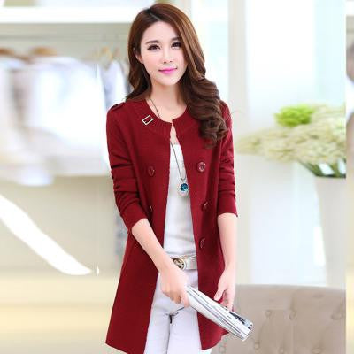 1f27b0f43bc0ca 2018 New Fashion Autumn Spring Women Sweater Cardigans Casual – Pick ...