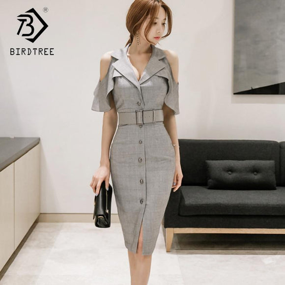 2018 Spring And Summer New Arrival Women Dresses Casual Patchwork
