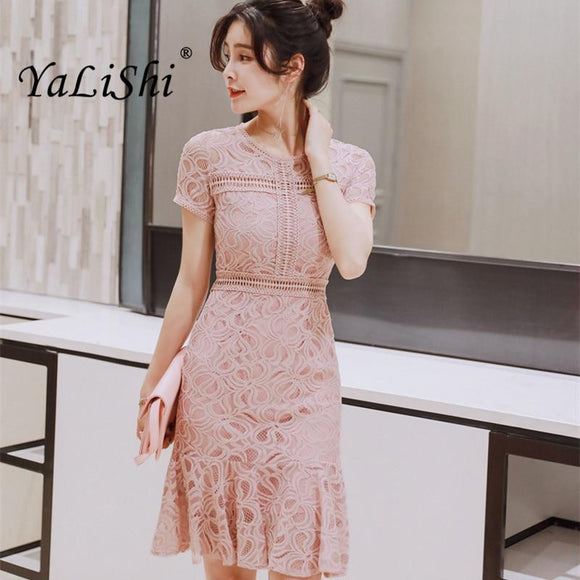 2018 Summer Women Lace Dress