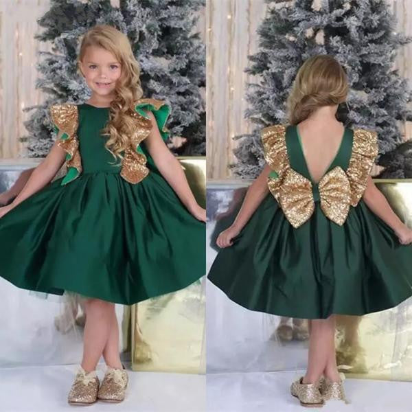 ec3fcf6c6 2019 Emerald Green Flower Girls' Dresses Little Girl by Pick a Product