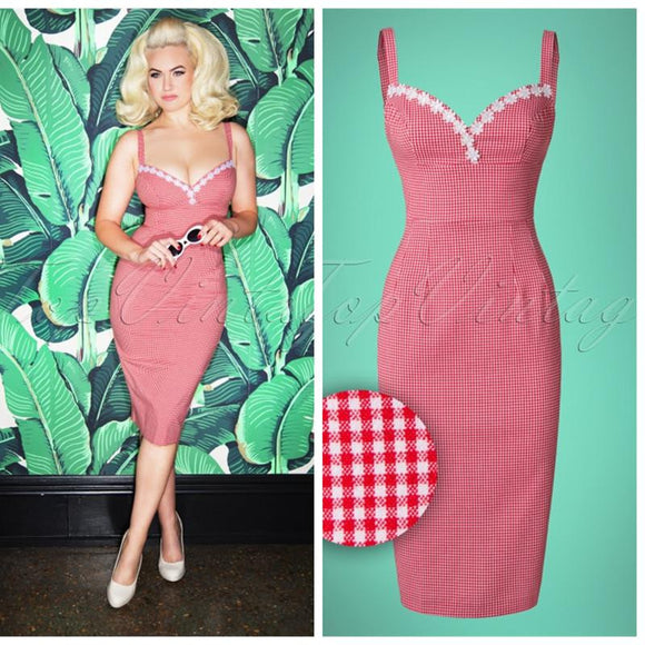 590a7c43891 Summer women vintage 50s gingham embroidered dress