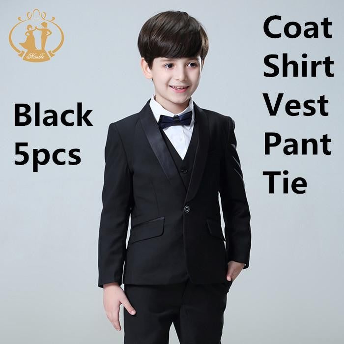 33b649e68d0 5pcs Set Boys Suits for Weddings Kids Prom Suits by Pick a Product