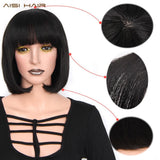 Synthetic 12 Inch Black Bob Wig by Pick a Product