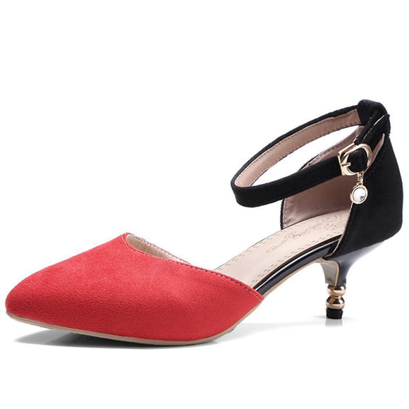 Red/Green/Orange Fashion Womens Shoes 4cm Heel by Pick a Product