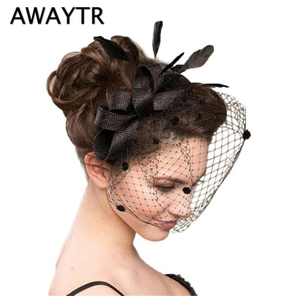 Women Mesh Flower Bow Hairpin by Pick a Product
