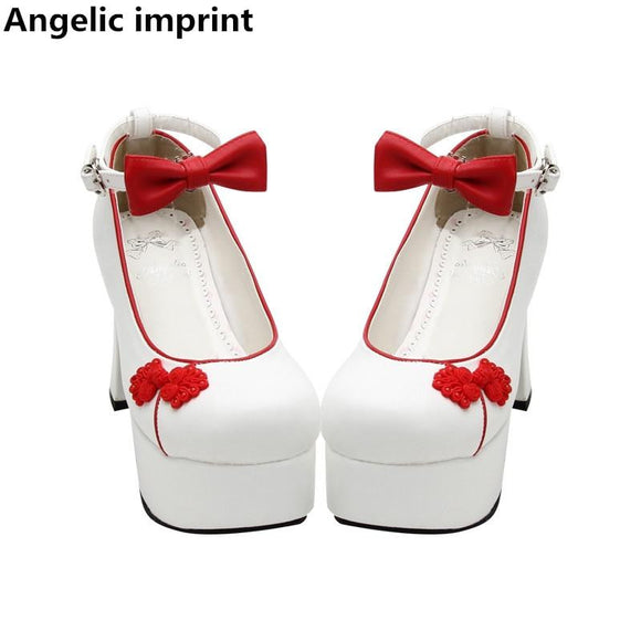 Angelic Imprint Womens Lolita Super High Heels by Pick a Product