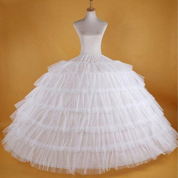 Big White Petticoats Super Puffy Ball Gown Slip by Pick a Product