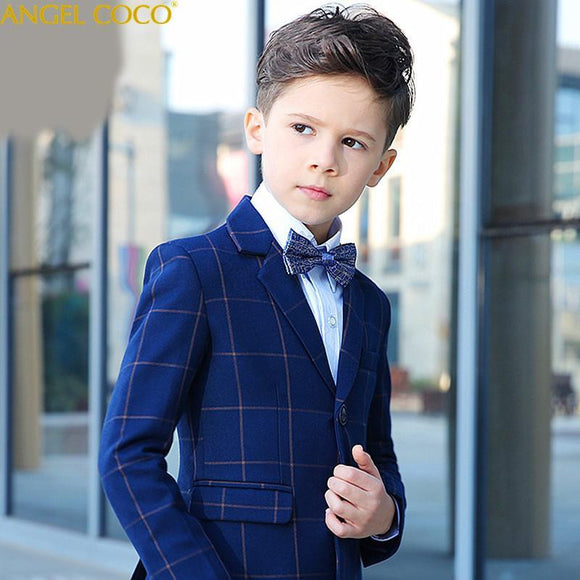 Boutique Blazer+Pants+Vest+Shirts+Bowtie Suit - little-darling-fashion-online