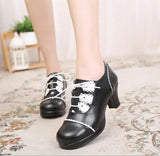 Sweet Princess Cross Tied Round Toe Work Shoes by Pick a Product