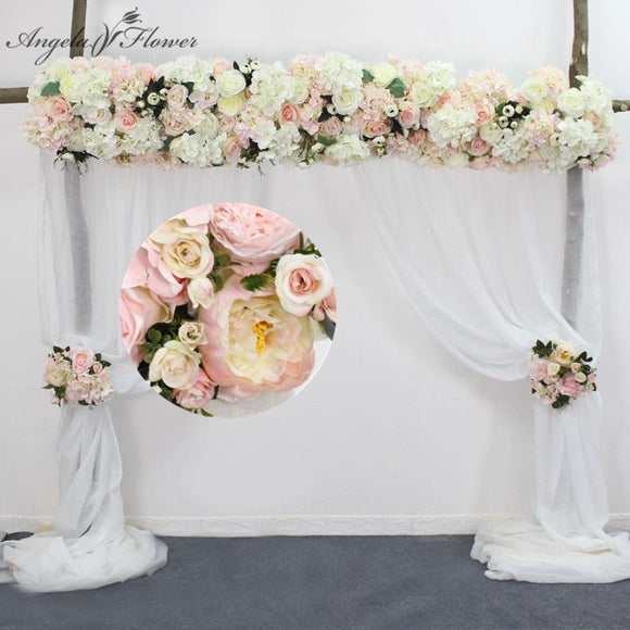 Rose Row Garland Wedding Aisle Decor - little-darling-fashion-online