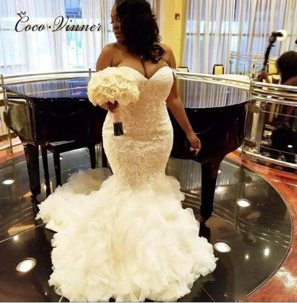 Elegant Lace Embroidery Wedding Gowns by Pick a Product