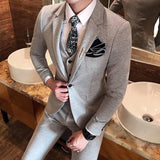 Elegant Vintage England Style Men Suits 2018