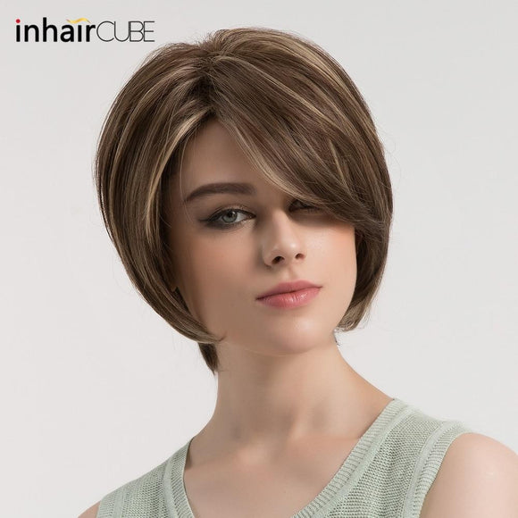 Esin Short Straight Hair Wig by Pick a Product