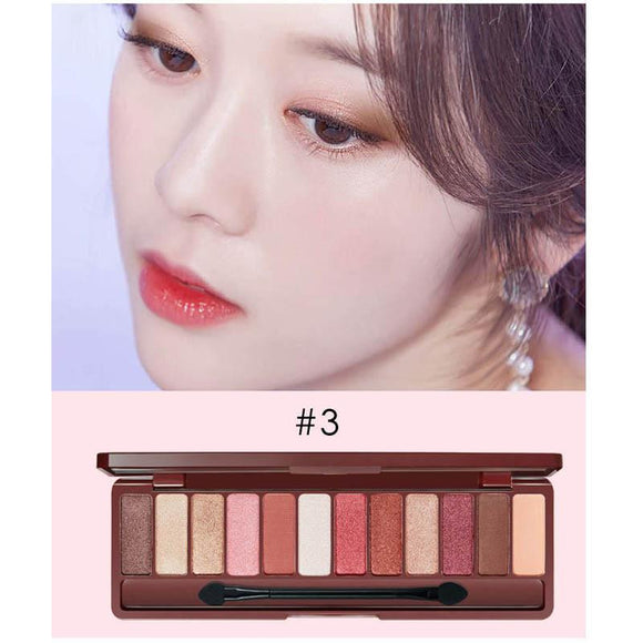 Eye Makeup Matte Eyeshadow Palette 12 Colors - little-darling-fashion-online