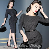 FREE SHIPPING Le palais limited edition vintage elegant vintage classic dress - little-darling-fashion-online