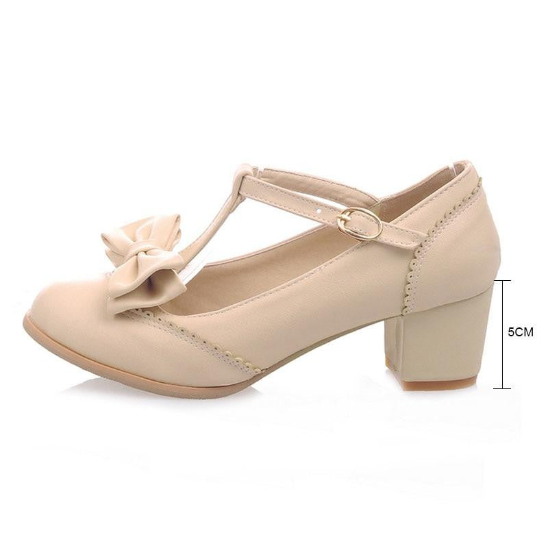 1cee7e91346 Fanyuan T-Strap Women High Heel Shoes by Pick a Product