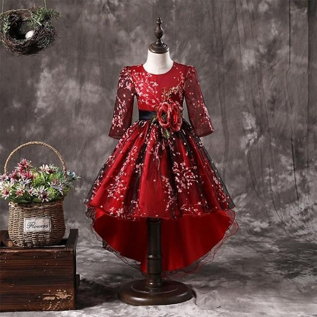98a7698f475f7 Flower Girl Dress Plum Wine Red by Pick a Product