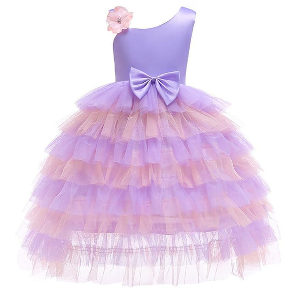Princess Wedding Ball Gown Dress for Girls