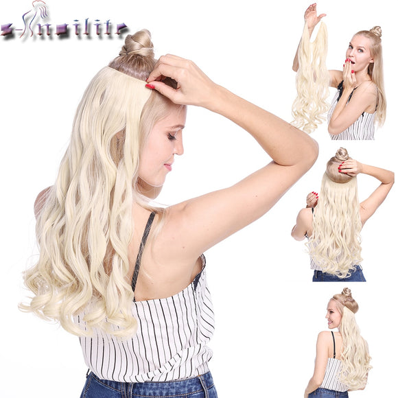 20 inch Invisible Wire No Clip 1 Pce Hair Extension - little-darling-fashion-online