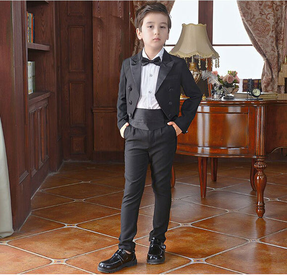 2019 New Arrival Boys' Tuxedo Suits for Wedding - little-darling-fashion-online