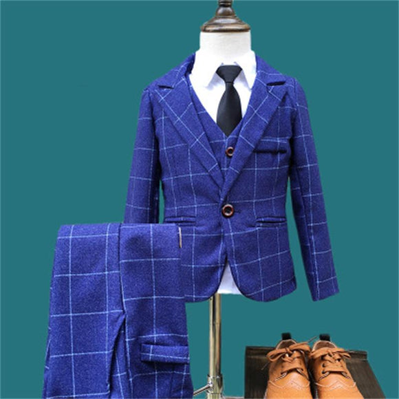 Hot New Children Boys Formal Suits for Wedding - little-darling-fashion-online