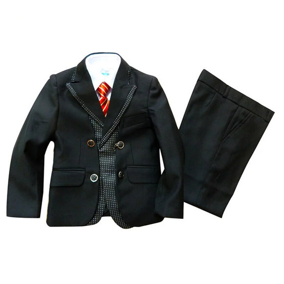Boys Blazer 3 Piece Suit for Weddings/Holy Communion - little-darling-fashion-online